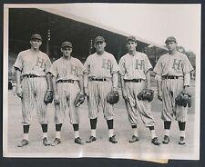 1939-40 EARLY WYNN Pre-Rookie Vintage Baseball Photo HAVANA CUBA STAR PLAYERS!