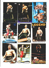 Eddie Guerrero Wrestling Lot 9 Different Trading Cards 4 Inserts WWE WCW EG-D1