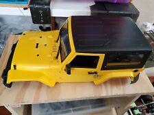 NEW 270mm( Wheelbase) Plastic Body Shell for 1:10 RC Car Jeep Wrangler Rubicon