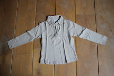 POLO BEIGE RIVER WOODS 8 ANS COMME NEUF