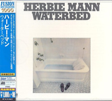 "CD HERBIE MANN ""WATERBED"" JAPON, 8 TITRES, NEUF, SOUS BLISTER SCELLE"