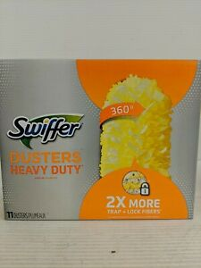 Swiffer 360 Dusters Heavy Duty Refills 11 Count Grabs Dust on Any Surface