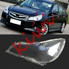 Left Side Headlight Clear Cover PC With Glue For Subaru Legacy 2010-2014