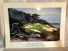 Arnold Palmer Signed Autographed Mark King Martin Lawrence Golf Lithograph JSA