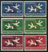 Guinea C35-C38 type 1-2,hinged.Mi 145-I-148-II. The conquest of space,1962.