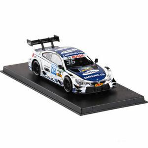 1/43 BMW M4 DTM 2017 Maxime Martin Racing Car Model Diecast Boy Collection