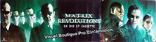 Kakémono Plastifié Et Roulé 80x293cm MATRIX REVOLUTIONS (2003) Keanu Reeves