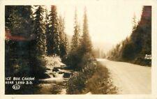 1930 Ice Box Canyon Lead South Dakota Rppc real photo postcard 157