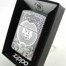ZIPPO Feuerzeug INSIGNIA Anne Stokes Collection Armor Case High Polished NEU OVP