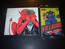 QUEENS OF THE STONE AGE CD + Trading Cards VILLAINS Sealed New sdcc homme josh