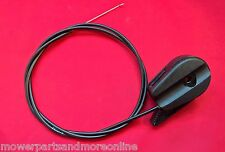 """LAWNMOWER THROTTLE CABLE & CONTROL 51"""" WITH Z-BEND READY TO FIT OR CUT & BEND"""