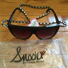 Women Sunglasses With Chain Style By Snooki Nicole Polizzi Free Shipping