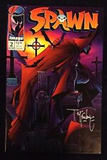 Spawn #2 Signed by Todd McFarlane NM+