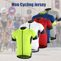 Men's Cycling Jersey Short Sleeve Sport Bike Summer Bicycle Clothing T-Shirt Top