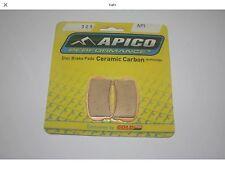 APICO 325 API TRIALS FRONT BRAKE PADS - GASGAS PRO 2014 ON.(BRAKETEC CALIPER)