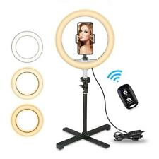 """New listing Ubeesize Tabletop 10.2"""" Selfie Ring Light with Cell Phone Holder & Bluetoot."""