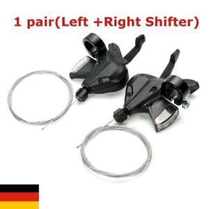 1 Paar fach 24 27 Gang Schaltung Fahrrad Schalthebel Kit 3x8