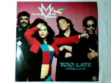 """THE REAL MILLI VANILLI Too late 12"""" GERMANY"""