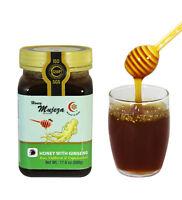 Mujeza Raw Honey with Korean Red Ginseng Non Gmo Gluten free  500g/17.6oz