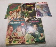 (6) E. Novaro Vidas Ilustres Comics Spanish/Espanol (1970's) Pre-Owned