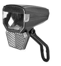 FUXON LED 30Lux Scheinwerfer Fahrradlampe Nabendynamo Schalter/Halter/4 Stecker