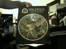 """Wild Paradise 500 piece Gold Seal Jigsaw Puzzle original packaging sealed 20""""Dia"""