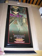 Rare Vintage 1996 Jebco Brickyard 400  Limited Edition Clock 4227/5000