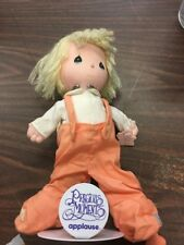 Precious Moments Applause Doll With Stand Angel Devil