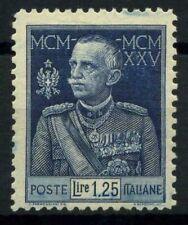 Italia Regno 1925 Sass. 191 Nuovo ** 100% Giubileo del Re