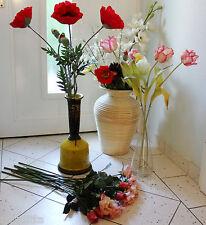 FLAMANT Vase + 35 Kunstblumen DEKO Sia Ikea Schale f. I. Domicil Impressionen