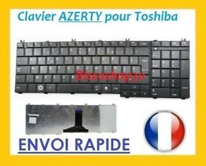 Clavier Français Original Azerty Toshiba Satellite Pro L650-1DGNoir Neuf