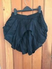 love label tulip folded mini nicro skirt uk 8 bnwt cotton