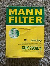 Audi, Seat, Skoda, VW Cabin FilterMANN CUK2939/1
