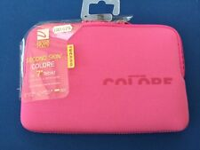 """Tucano Second Skin Colore Lycra Sleeve for Tablets 7"""" pink pouch tablet"""