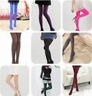 DI US Fashion Girl Women's Opaque Pantyhose Tights 100D Bright Candy Color