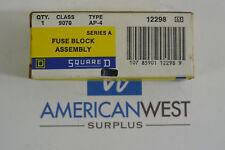 Square D 9070 AP-4 Series A Fuse Block Assembly