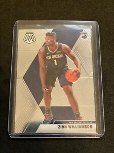 2019-20 Panini Mosaic Zion Williamson Rookie Investor Lot 5x