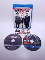 This Means War (Blu-ray/DVD, 2012, Canadian, Blu Ray) Complete