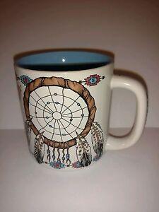 Dream Catcher Collectible Coffee Tea Mug Cup Oklahoma Travel Souvenir - 8 oz