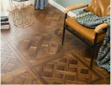 Walnut  Versailles Parquet Floor Tile Wallpaper Hardwood flooring wood flooring