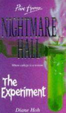 The Experiment (Point Horror Nightmare Hall S.), Very Good Condition Book, Hoh,
