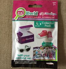 MiWorld Style Boutique Collector Pack Accessory Set Shoes Refill New Nib