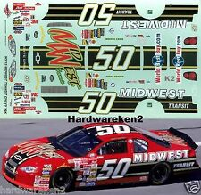 NASCAR DECAL #50 MIDWEST TRANSIT 2000 MONTE CARLO RICKY CRAVEN