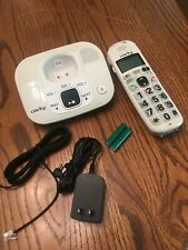 CLARITY D712 AMPLIFIED LOW VISION CORDLESS PHONE W/ ANSWERING MACHINE