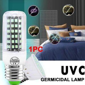 E27 E14 B22 Germicidal Lamp LED UVC Bulb Home Disinfection Sterilizing Light