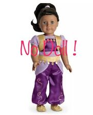 American Girl Doll MyAG Genie Costume Charm Shoes Hair Tie Halloween Complete