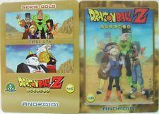 """Dragon Ball Z  """"Androidi"""" Giochi Preziosi serie GOLD n° 45 lentico"""