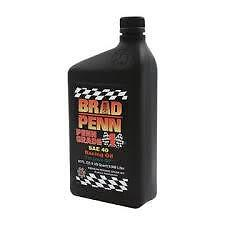 Brad Penn SAE 40W High Performance Racing Engine Oil CASE 12 ZDDP Zinc Flat Cam