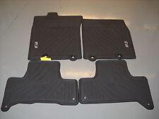 2011 - 2014 Toyota FJ Cruiser All Weather Floor Mats Black OEM PT206-35110-21
