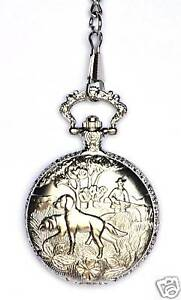 Shooting  theme Collectable Pocket Watch Gift Boxed